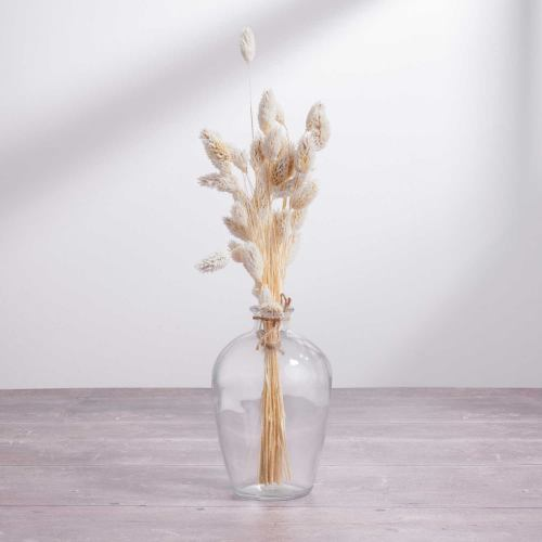 Dried Flowers ~ White Phalaris Grass Jar