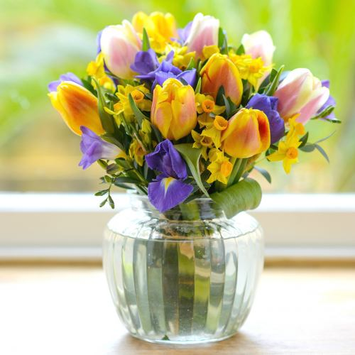 Spring ~ First Day Of Spring Posy