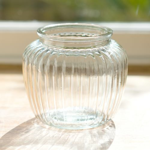 Vase ~ Sweetie Ribbed Bubble Vase