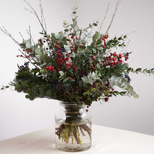 Winter ~ Fruits Of The Forest Luxury Bouquet