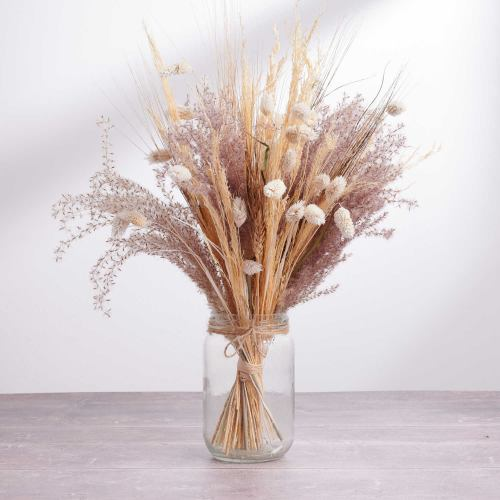 Dried Flowers ~ Rustic Meadow Jar