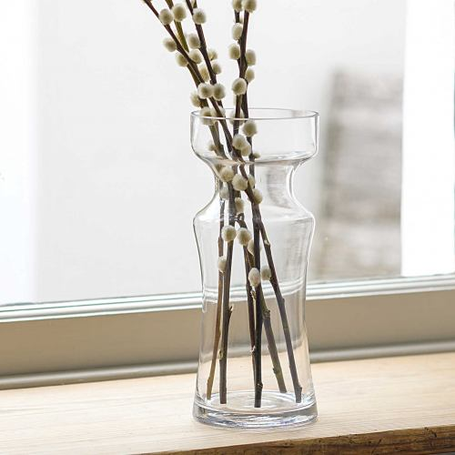 Glass Vase ~ Botanical Flower Vase