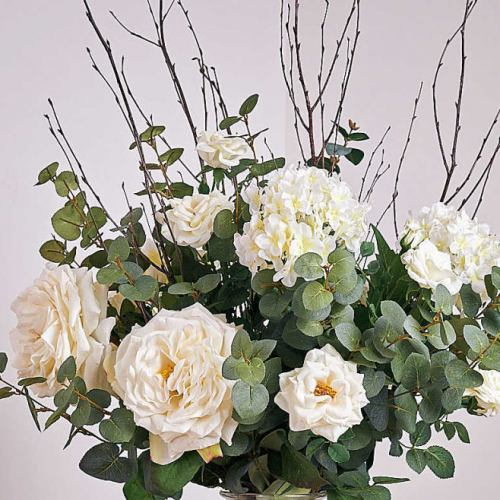 Boutique Faux ~ White Rose & Birch