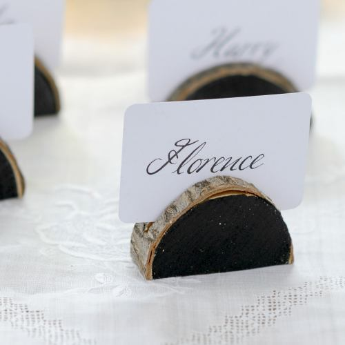 Table ~ Wooden Name Card Holders