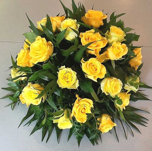 Posy ~ Bright Yellow Rose Garden ~ Local Delivery Only
